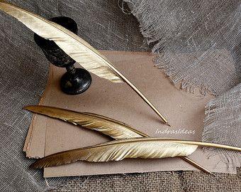 gold quills